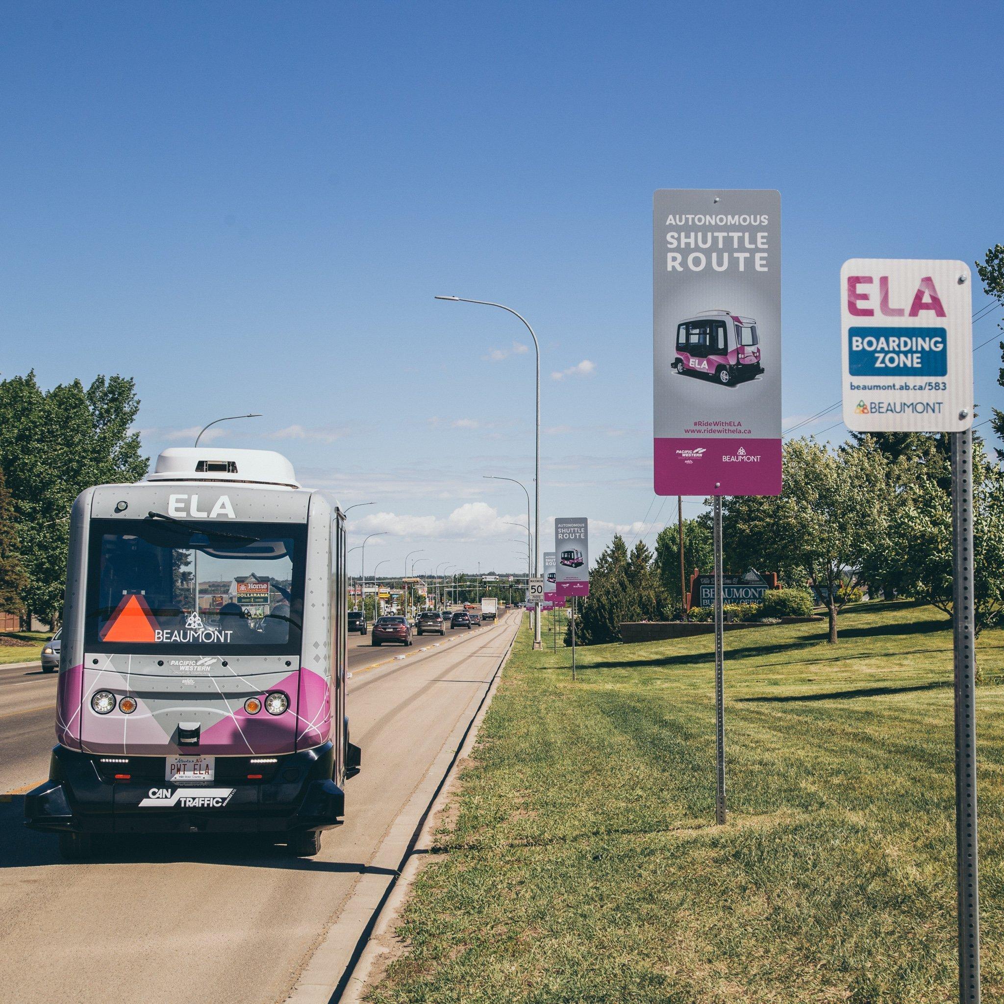 Beaumont Rides Autonomous Vehicle Into Limelight
